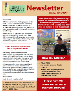 Winter 2016/2017 Newsletter
